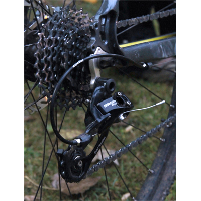 Cassette and Rear Mech
