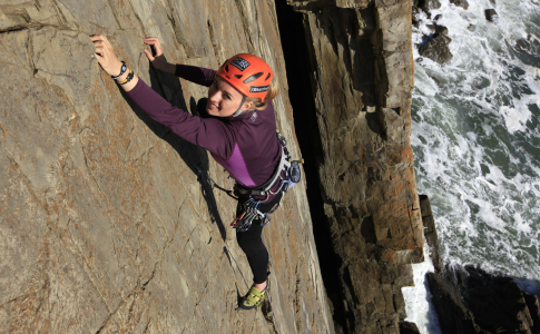 Climbing blog: 'Feel the fear and do it anyway'