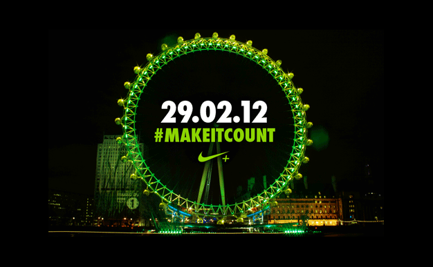 Free fitness sessions with Nike 'Make It Count'