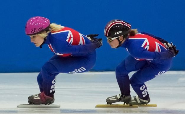Speed skating: British team competes at European Championships