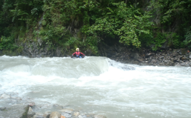 Getting started Whitewater tubing