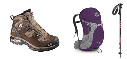 Hiking-gear