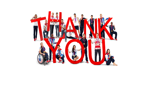 National Lottery funded athletes say thank you (1)