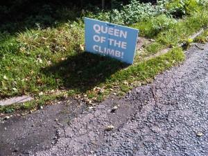 Queen of the climb