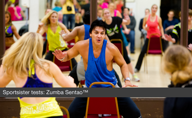 Sportsister tests: Zumba Sentao™