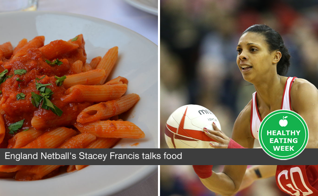England Netball's Stacey Francis