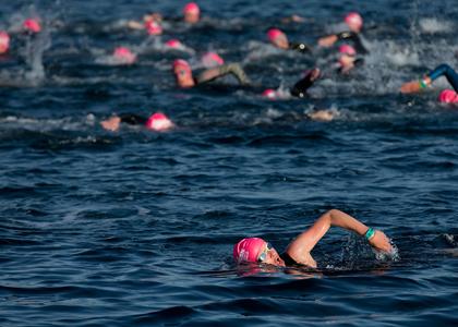Triathlon-swim - open water