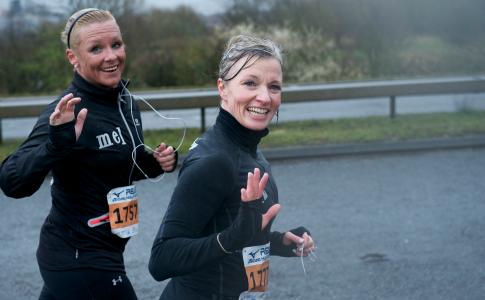 Women running (Reading Half)