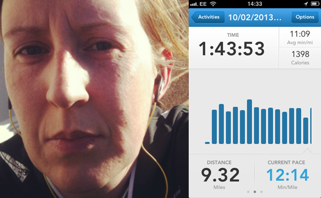 Carrie on running: What a weekend!