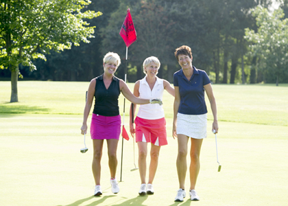 Friendship, fresh air and exercise, golf has it all…