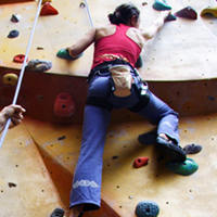 The best way to have a go is on an organised taster session at an indoor  climbing wall b5ff9a278