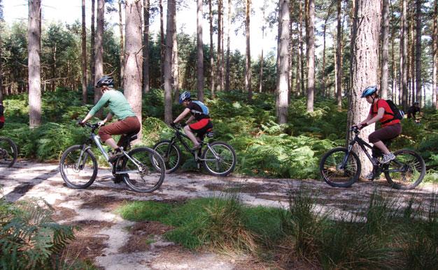 Reader event: Mountain biking